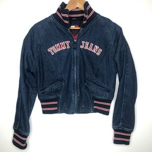 Vintage Tommy Jeans Denim Crop Jacket